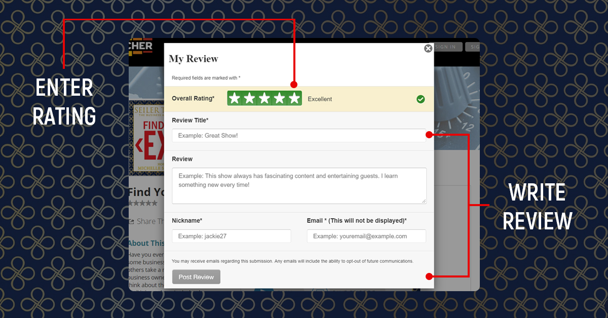 Rate & Review Images_Listen via Stitcher Radio On Demand2