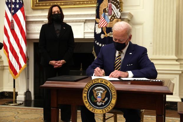 Biden Wastes no Time Reversing Trump's Agenda